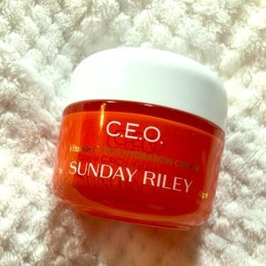 Sunday Riley C.E.O Vitamin C Rich Hydration Cream.